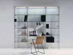 make glass bookcases fashionable again
