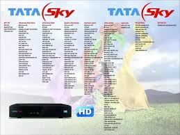 Dish Channel Comparison Chart Which Dth Service In India Is The Best For Hd Channels Quora