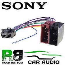 sony mex m100bt car radio stereo 16 pin wiring harness loom iso lead sony xplod wiring harness diagram image is loading sony mex m100bt car radio stereo 16 pin