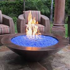 outdoor gas fire pits gaslight firepit lights with bowl decorations 14