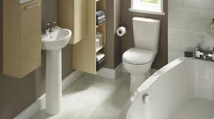 Perdita Space Saving Bathroom Suite contemporary-bathroom