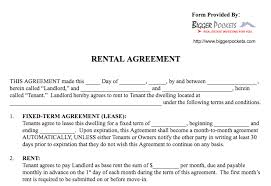 Texas Lease Agreement Template Free Texas Residential Lease ...