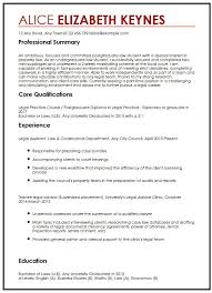 law cv template