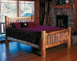 Log Cabin Bedroom Decor Bedroom Decor Light Wood Log Bedroom Furniture With Table Cabinet