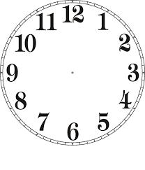 Free Clock Faces Printable Clock Face Printable Clock