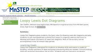 Loopy Lewis Dot Diagrams Curriki