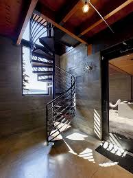 View in gallery modern spiral staircase