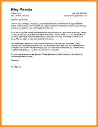 Sample Cover Letters For Teaching Teacher Job Seeking Tips Your