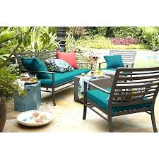 crate barrel outdoor furniture. Crate And Barrel Patio Furniture Sofa With Harbor Blue Cushion Teak Outdoor E