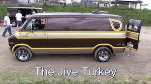 The Jive Turkey - Custom 1976 Dodge Van - YouTube