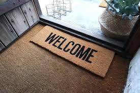 open front door welcome. Outstanding Front Door Welcome Mat Inspirations Open And By .