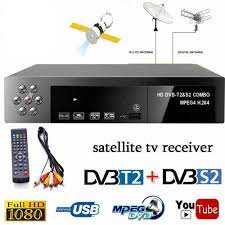 SMART DIGITAL TV BOX RECEIVER 1080P DVB-T2 + DVB-S2 MONTAGE VT6000