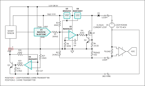 high performance high accuracy 4 20ma current loop transmitter block diagram for a universal 2 or 3 wire smart sensor