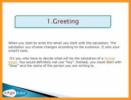 How To Write A Formal Business Email Bio Letter Format