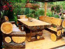 Rustic wood patio furniture Stylish Images Made Of Branches Logs Furniture And Decorative Accessories 16 Diy Home Decorating Pinterest Logs Furniture And Decorative Accessories 16 Diy Home Decorating