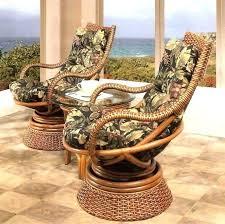 rattan swivel rocker chair cushions cushion wicker