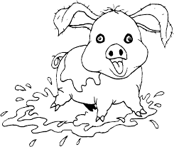 Disegni Animali Della Fattoria 1 Disegni Per Bambini Da Stampare E