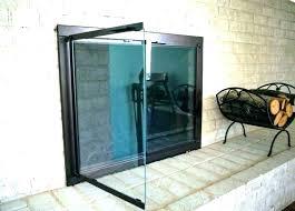 fireplace glass door fireplace glass doors fireplace glass door insert inert fireplace insert glass door cleaning
