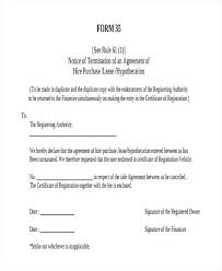 Hire Purchase Agreement Sample Template Higher Download Free ...