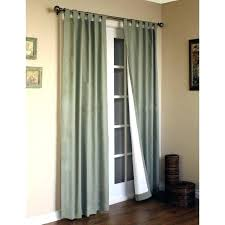 double door curtains and for sliding glass doors new curtain rod uk