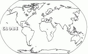 Small Picture World Map Coloring Pages For Kids World Map Coloring Page