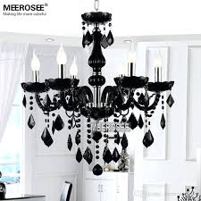 small black crystal chandelier small crystal chandelier lamp fixture black crystal light candle glass chandelier lighting