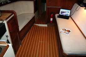 how i improved the look and feel of my boat how to install engineered teak on your boat you