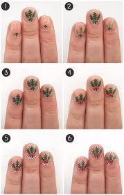 mistletoed up nail art tutorial