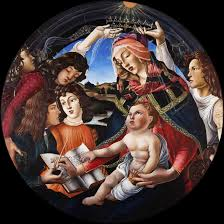 sandro botticelli painting madonna of the magnificat