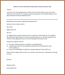 Letters Of Appeal Insurance Appeal Letter Template Appeal Template Business Letter