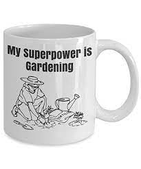 gardening 11 oz mug novelty mug