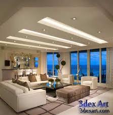 modern false ceiling designs for living