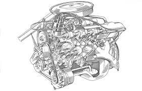 vauxhall the slant four engine story image description