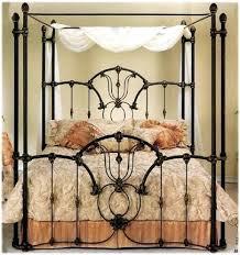 Iron Canopy Bed Iron Canopy Bed King Iron Canopy Beds Iron Four ...