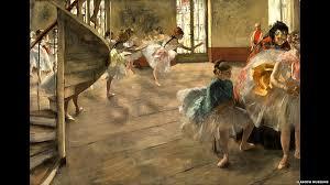 degas the rehearsal c 1874