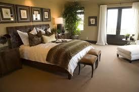 bedroom decorating ideas brown green