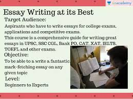essay writing course overview essay writing unacademy
