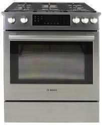 European Kitchen Gadgets Bosch Hgi8054uc Slide In Gas Range Review Reviewedcom Ovens