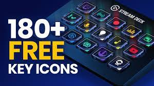 Free Stream Deck Icons: Create the ...