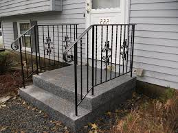 Exterior Wrought Iron Stair Railing Kits