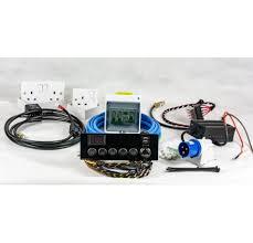 full campervan conversion electrical motorhome wiring kit 12v & 240v motorhome 240v wiring diagram at Campervan 240v Wiring Diagram
