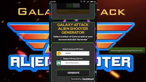 galaxy alien shooter hack cheat for unlimited coins 2018
