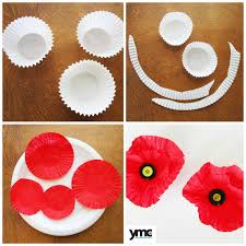 Make A Paper Poppy Flower 3 Beautiful Handcrafted Poppies For Remembrance Day