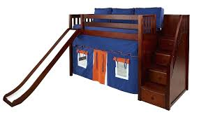 bunk bed with slide and desk. Delighful Desk Loft Beds Slides Bunk With Slide And Stairs Mid Bed Staircase Desk  Throughout Bunk Bed With Slide And Desk E