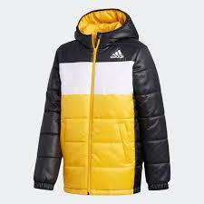 adidas <b>Утепленная куртка</b> - черный | adidas Россия