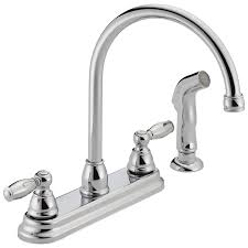 claymore two handle kitchen faucet