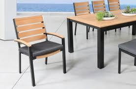 kensington teak patio furniture dining set