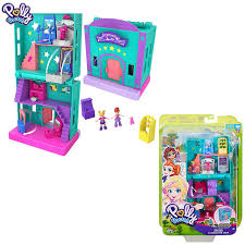 Original Polly Pocket Mini Polly Little Store Box Girls Car Toys World Mini  Scene Toy Girl Gift Doll House Accessories Juguetes – Kid Gift Mall