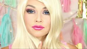 barbie makeup tutorial by kandee johnson shows you how to get that doll look in hi sd video