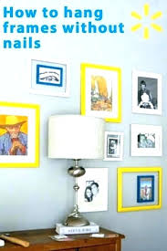how to hang photo frames on the wall without nails how to hang picture frames without how to hang photo frames